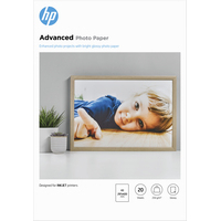 HP fotopapier: Advanced Photo Paper, glanzend, 20 vel, A3/297 x 420 mm