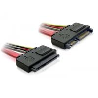 DeLOCK ATA kabel: SATA Cable 0.5m - Rood