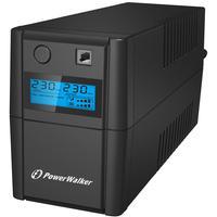 BlueWalker UPS: VI 650SE LCD - Zwart