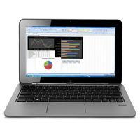 HP laptop: Elite x2 1011 G1 - Intel Core M-5Y71 - 256GB SSD - Zilver