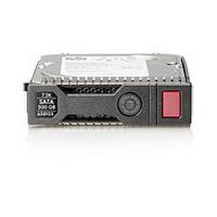 Hewlett Packard Enterprise interne harde schijf: 1TB 6G SATA LFF - Zwart