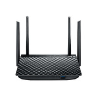 ASUS wireless router: RT-AC58U - Zwart
