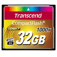 Transcend flashgeheugen: 1000x CompactFlash 32GB