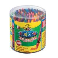 Carioca : 100 Wascokrijtjes - Multi kleuren