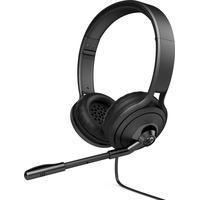HP 500 headset - Zwart