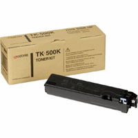 KYOCERA toner: 370PD0KW 8000pages + Waste Box - Zwart