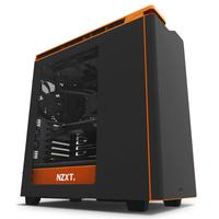 NZXT behuizing: H440 - Zwart, Oranje