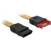 DeLOCK ATA kabel: 0.3m SATA III - Bruin