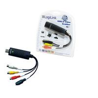 LogiLink kabel adapter: Audio + Video Grabber USB 2.0