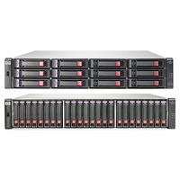 Hewlett Packard Enterprise SAN: P2000 G3 SAS MSA w/4 600GB 6G SAS 10K SFF HDD 2.4TB Bundle/TV