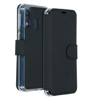 Xtreme Wallet Booktype Samsung Galaxy A40 - Zwart - Zwart / Black Mobile phone case