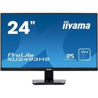 "Iiyama monitor: ProLite 23.8"" IPS monitor with ultra-slim bezel and ultra-flat front - Zwart"