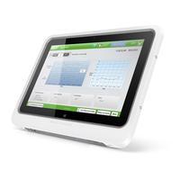 HP tablet: ElitePad 1000 G2 Healthcare - 128GB - Intel Atom Z3795 - Zilver