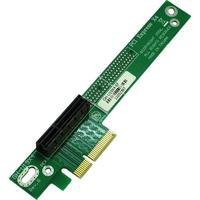 Inter-Tech interfaceadapter: RiserCard PCIe x4, 90° - Groen
