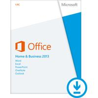 DELL software suite: Microsoft Office Home & Business 2013, 1PC