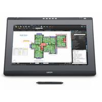 "Wacom touchscreen monitor: DTK-2241 - 21.5"" 1920 x 1080, 16:9, DVI-I, ExpressKeys, VESA - Zwart, Grijs"