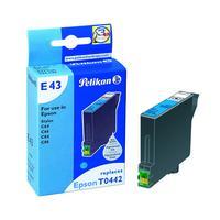 Pelikan Inkjet Cartridge E43 replaces Epson T044240, cyan, 13 ml (342409)