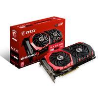 MSI videokaart: Radeon RX 480 GAMING X 4G - Zwart, Rood