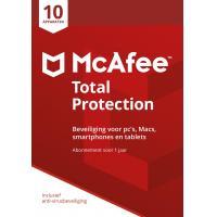 McAfee algemene utilitie: Total Protection 2018, 10 Devices (Dutch)