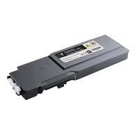 DELL cartridge: Geel tonercartridge extra met hoge capaciteit voor de laserprinter C3760n/ C3760dn/ C3765dnf (9000 .....