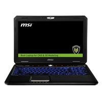 MSI laptop: Workstation WT60 2OJ-877NL - Zwart