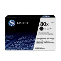 HP toner: 80X originele high-capacity zwarte LaserJet tonercartridge