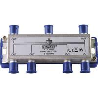 Schwaiger kabel splitter of combiner: VTF8826 241 - Roestvrijstaal
