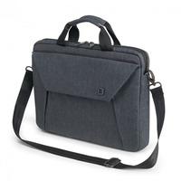 Dicota laptoptas: Slim Case - Blauw