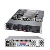 Supermicro server barebone: SuperServer 2028R-C1R - Zwart