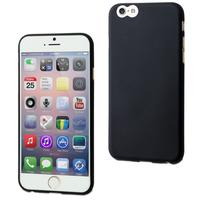 Muvit mobile phone case: Black Thingel Case For Iphone 6 Plus - Zwart