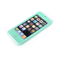 ROCK mobile phone case: Naked Cover Apple iPhone 5/5S/SE, Green - Groen