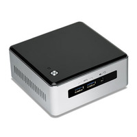 Intel barebone: NUC NUC Kit NUC5i3MYHE - Zwart, Zilver