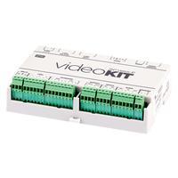 2N Telecommunications LAN x 2, 10/100BASE-TX, PoE intercom system accessoire - Groen, Wit