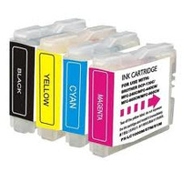 Brother inktcartridge: LC-121VALBP Value Blister (1 x BKCMY) - Zwart, Cyaan, Magenta, Geel