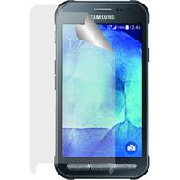 Azuri screen protector: duo screen protector, Ultra Clear, voor Samsung Galaxy Xcover 3 - Transparant