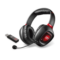 Creative Labs headset: Sound Blaster Tactic3D Rage Wireless - Zwart