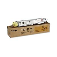 Brother cartridge: TN-11Y - Geel toner