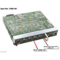 HP product: BD,EMBEDDED,SWITCH,6 PORT Refurbished (Refurbished ZG)