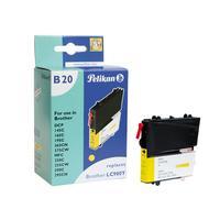Pelikan inktcartridge: LC980y - Geel
