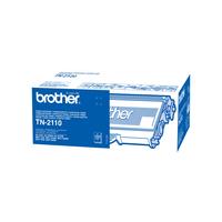 Brother toner: TN-2110 tonercartridge - Zwart