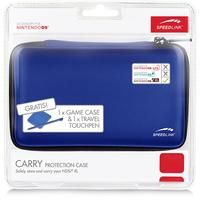 Speed-Link spel accessoire: CARRY Case for NDSi XL - Blauw