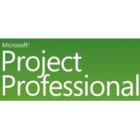 Microsoft software licentie: Project Professional, SA, OLP NL, Win32, CAL