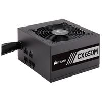 Corsair power supply unit: CX650M - Zwart