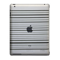 NUU BaseCase Stripe tablet case - Zwart