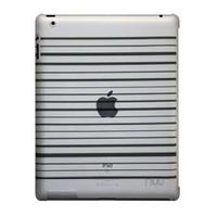 NUU BaseCase Stripe tablet case - Zwart
