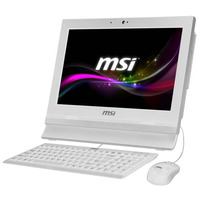 MSI all-in-one pc: Wind Top AP1622ET-W10374G50XXASXH - Wit
