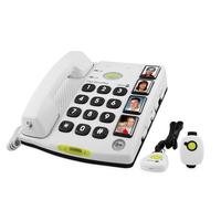 Doro dect telefoon: Secure 347 - Wit