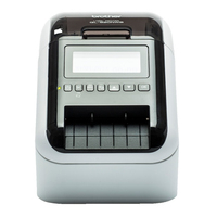 Brother labelprinter: 2-Kleuren labelprinter met Wi-Fi, bekabelde netwerkaansluiting, Bluetooth, AirPrint en LCD scherm .....