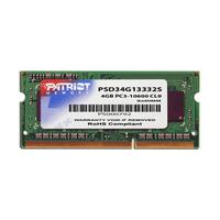 Patriot Memory RAM-geheugen: 4GB DDR3 SODIMM