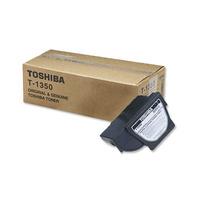 Toshiba cartridge: T-1350E Black Toner asdasd - Zwart
